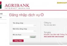 quen mat khau internet banking agribank