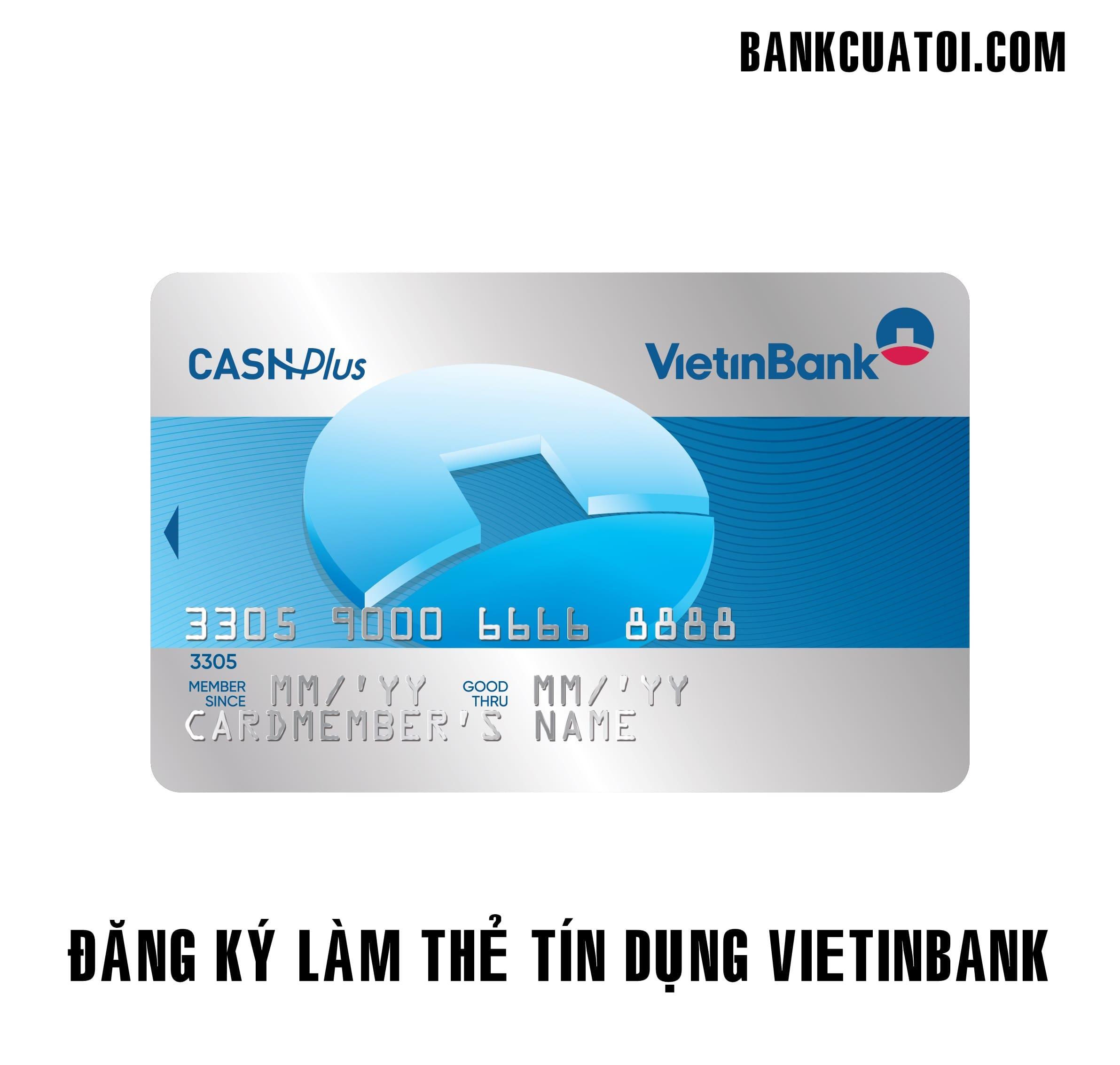 Lam the tin dung vietinbank