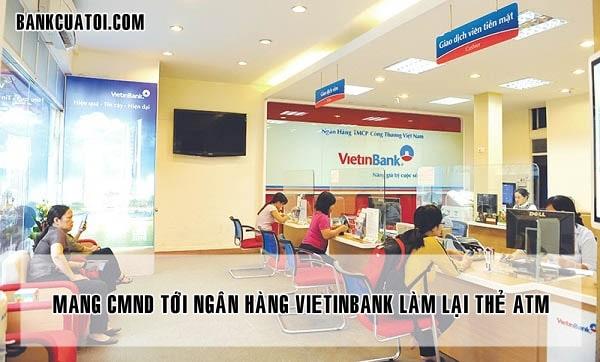 Lam lai the atm vietinbank