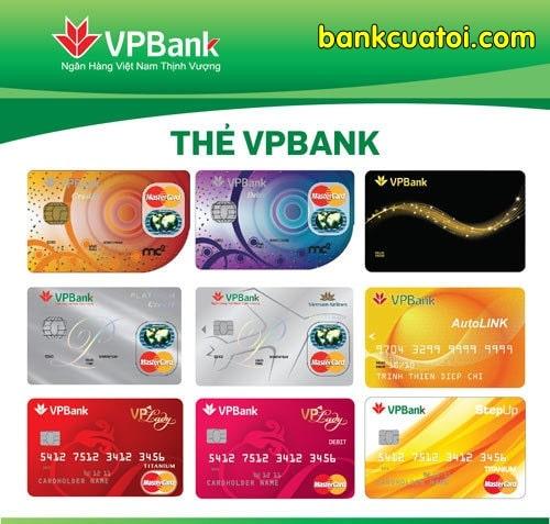 Lam the tin dung vpbank