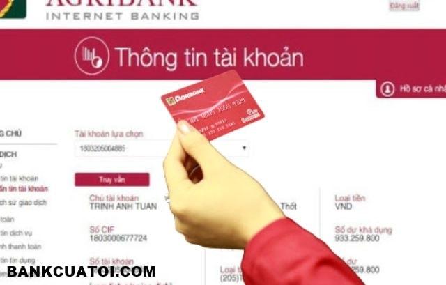 Số dư tối thiểu trong tài khoản Agribank