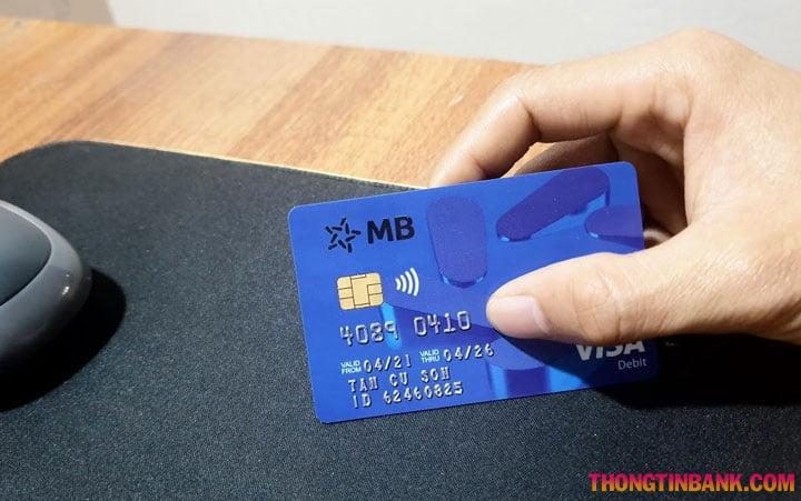 Cách rút tiền mb bank