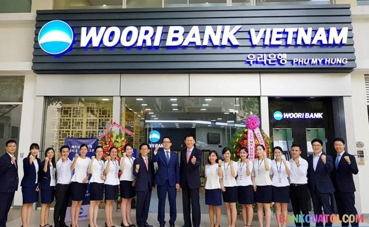Swift code Woori Bank