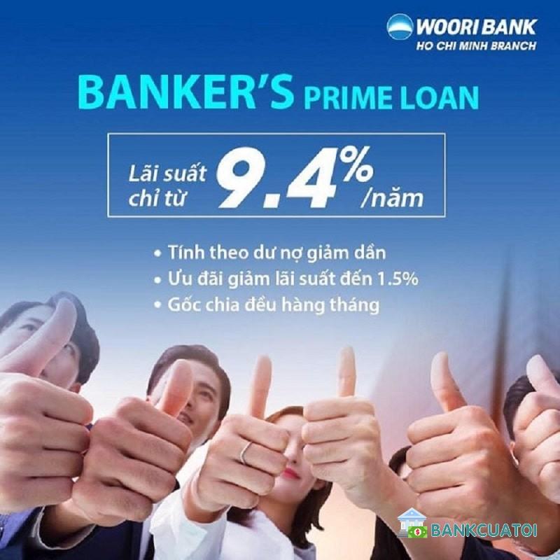 Có nên vay ngân hàng woori bank